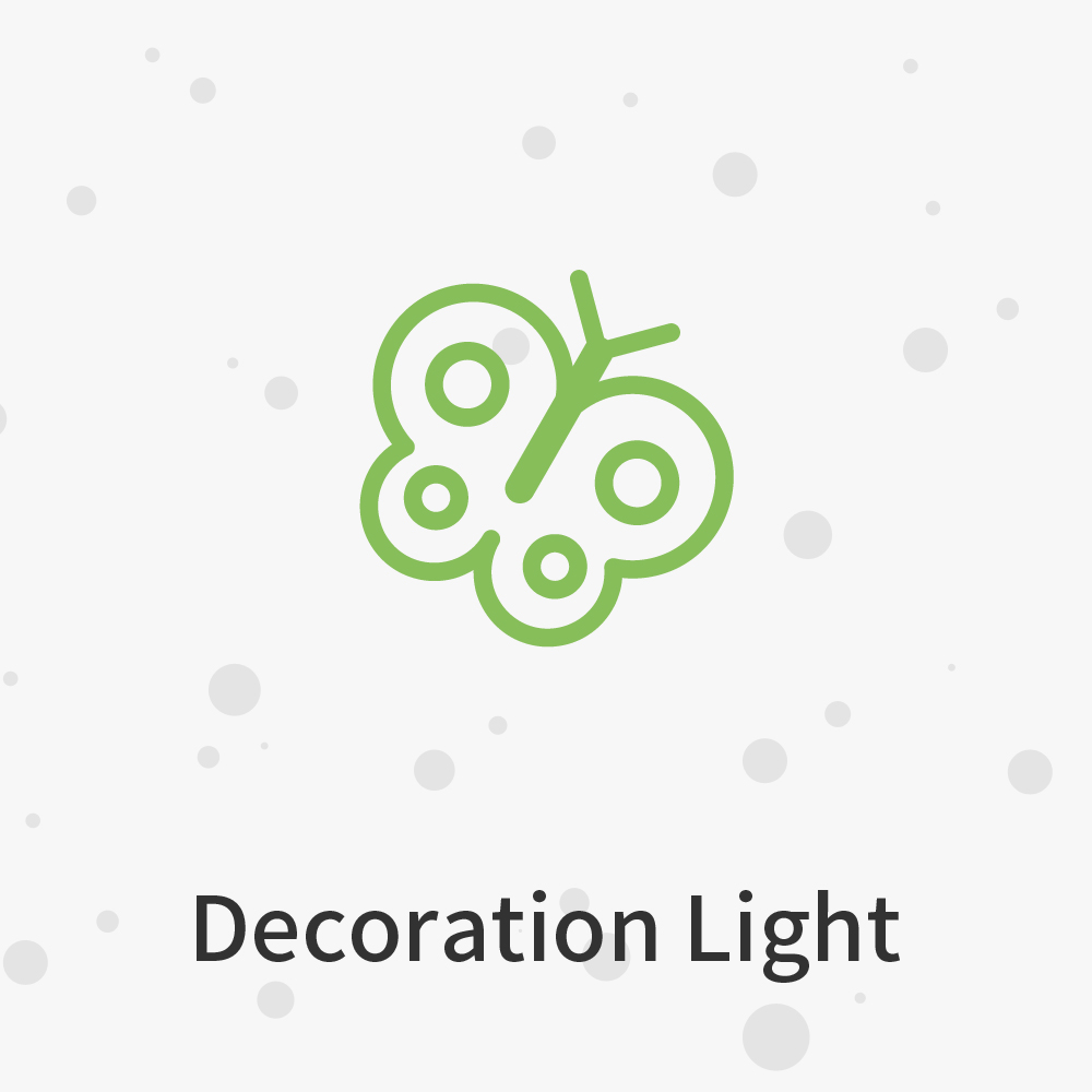 Not just a light but a decoration that adds style to your home!
